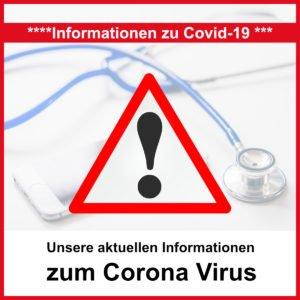 Corona-Infoseite